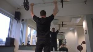Kuntosalilla, At Gym in Kirkkonummi